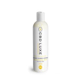 CBD Luxe 500MG Broad Spectrum CBD Massage Oil 4oz THC Free - Chamomile