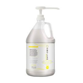 CBD Luxe 16000MG Broad Spectrum CBD Massage Oil 1 Gallon THC Free - Chamomile