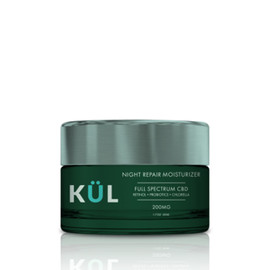 KUL QUL CBD 200mg Full Spectrum CBD Night Repair Face Moisturizer 1.7oz