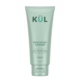 KUL CBD 100mg Full Spectrum CBD Exfoliating Face Cleanser 4oz