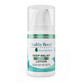Healthy Roots Hemp 200MG Full Spectrum CBD Deep Relief Lotion 2oz - Cucumber Melon