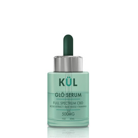 KUL CBD 500mg Full Spectrum CBD GLÖ Face Serum 1oz