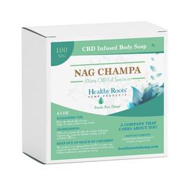 Healthy Roots Hemp 100MG Full Spectrum CBD Infused Body Soap 4.5oz - Nirvana