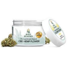 Royal Remedies 3.5 Gram CBD Flower Jar - Elektra