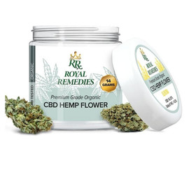 Royal Remedies 14 Gram CBD Flower Jar - Elektra