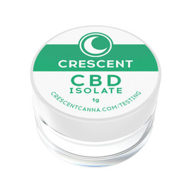 Crescent Canna 1G Isolate Pure CBD Powder - Isolate Powder