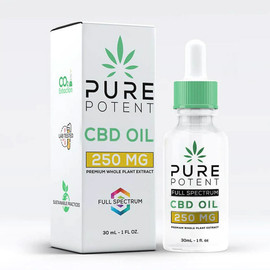 Pure Potent 250MG Full Spectrum CBD Oil 30ML - Original