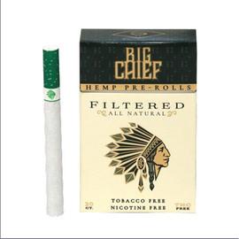 Big Chief CBD Filled Hemp Cigarettes - Pack of 20 - Original
