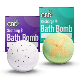 CBDfx 200mg Bath Bomb