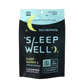 Pachamama 20MG Sleep Well CBD Sleep Gummy - 5ct Pouch