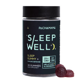 Pachamama 20MG Sleep Well CBD Sleep Gummy - 30ct Jar