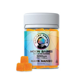 Galaxy Treats 500mg Moon Babies Delta 8 THC Gummies - 20ct Jar - Mars Mango