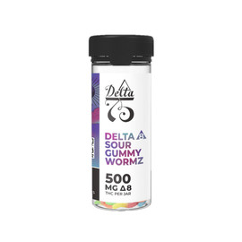 Limitless Products 500MG Delta 8 Sour Gummy Wormz 20 Count *Drop Ships* (MSRP $25.00) - Wormz
