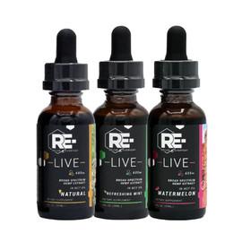 Relive Everyday 600MG Broad Spectrum CBD Tincture 30ML - Natural, Refreshing Mint, Watermelon Vegan