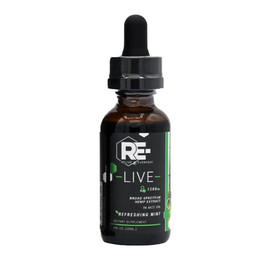 Relive Everyday 1200MG Broad Spectrum CBD Oil 30ML - Refreshing Mint