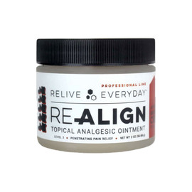 Relive Everyday 600MG Broad Spectrum CBD Analgesic Ointment 2oz - Ointment