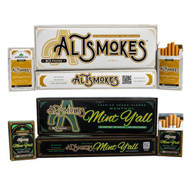 AltSmokes 65MG Hemp CBD Cigarettes Pack of 10
