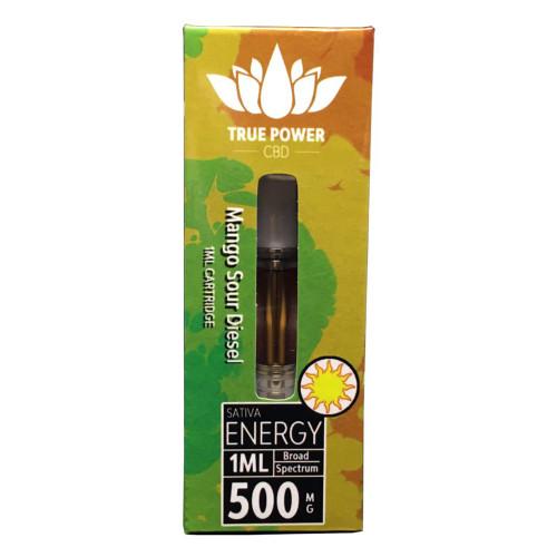 True Power Terpene Cartridges 500mg - Singles