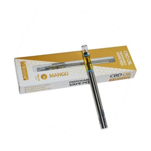 CBD GoldLine Mango 100mg CBD Disposable Vape Pen