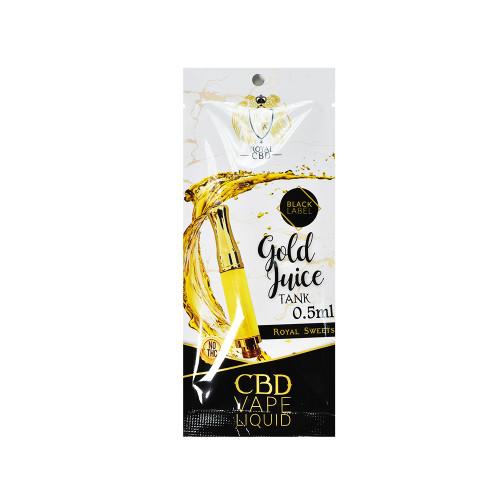 Royal CBD 100mg Gold Juice CBD Pods 0.7mL