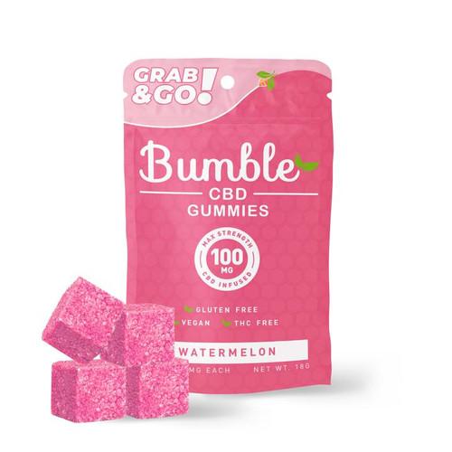 Bumble CBD 100mg CBD Infused Gummies - Watermelon