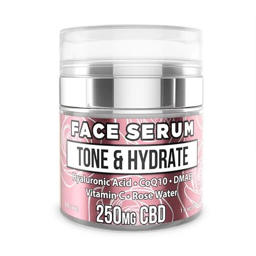 Erth Hemp 250mg CBD Face Serum Tone & Hydrate 30ML