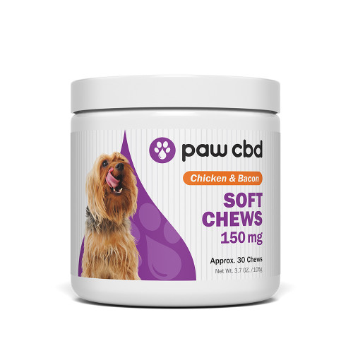 Paw CBD 150mg Soft Chews - 30ct