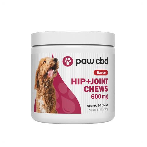 Paw CBD 600mg Hip + Joint Chews - 30ct