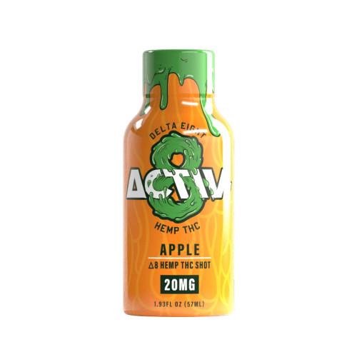 Activ-8 20MG Delta 8 Hemp Shot 1.93 fl oz - Apple