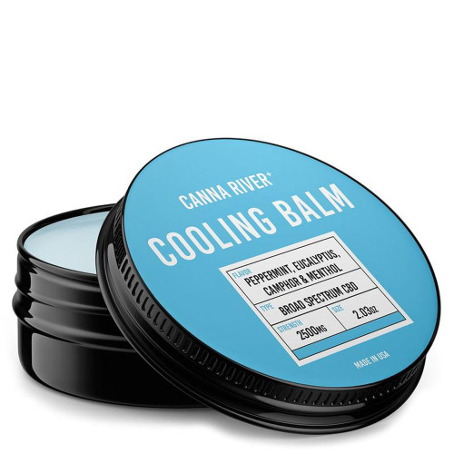 Canna River+ 2500MG Broad Spectrum CBD Rubbing Balm 2.03 oz - Cooling Balm