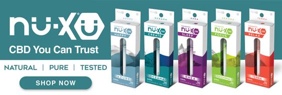 Solace Nu-X CBD 150mg Full Spectrum Disposable CBD Pen
