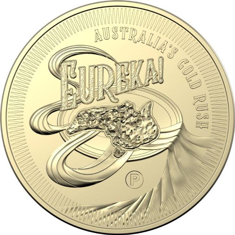 "2020 $1 Eureka Perth ANDA ""P"" Privymark Unc - P mintmark"