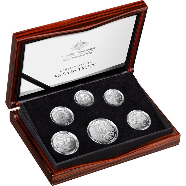 2021 Fine Silver Proof Year Set - in presentation box