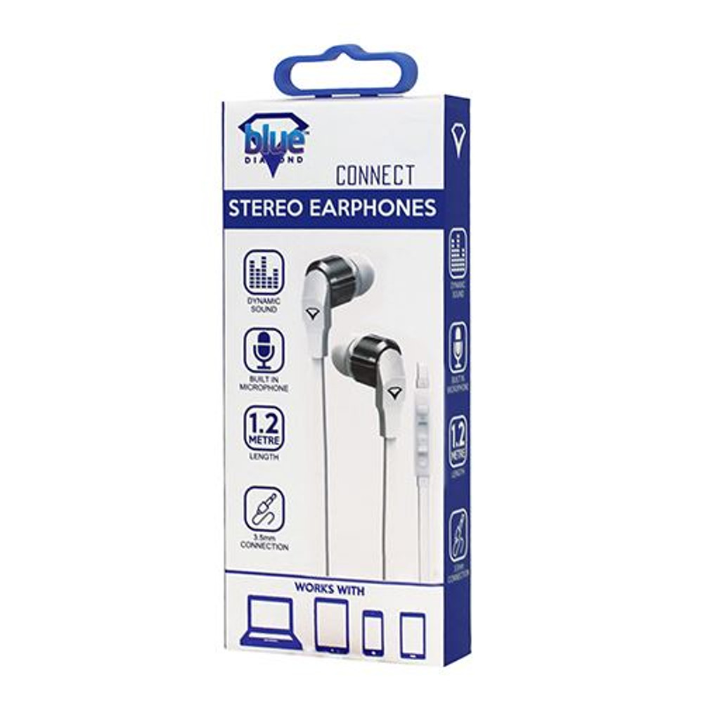 HANDS FREE EARPHONE (WHITE)