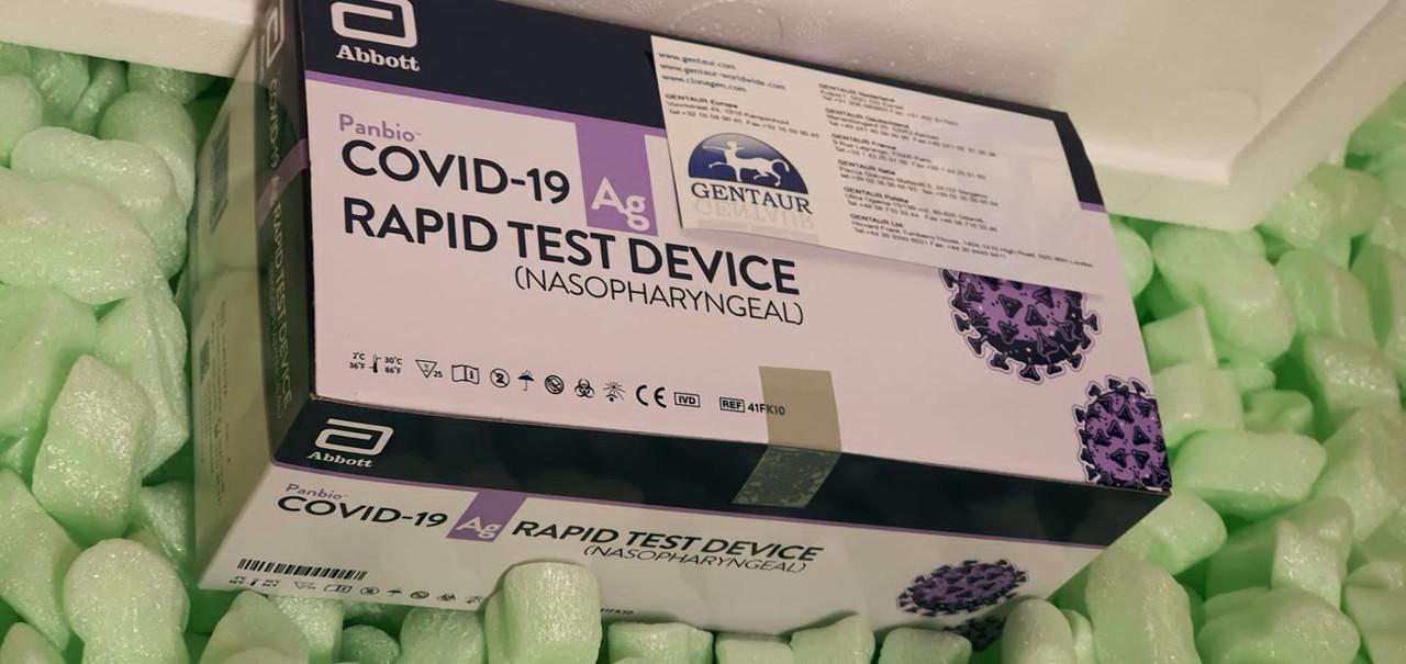 Panbio Covid antigen kits