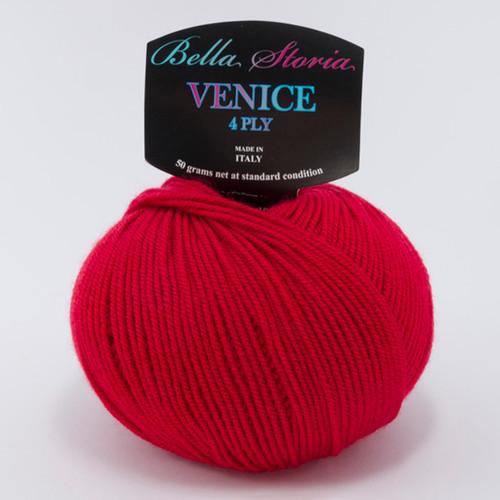 Bella Storia Venice 4 Ply 5288 Bright Red
