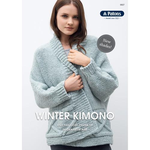 Winter Kimono (Chainette Aire)