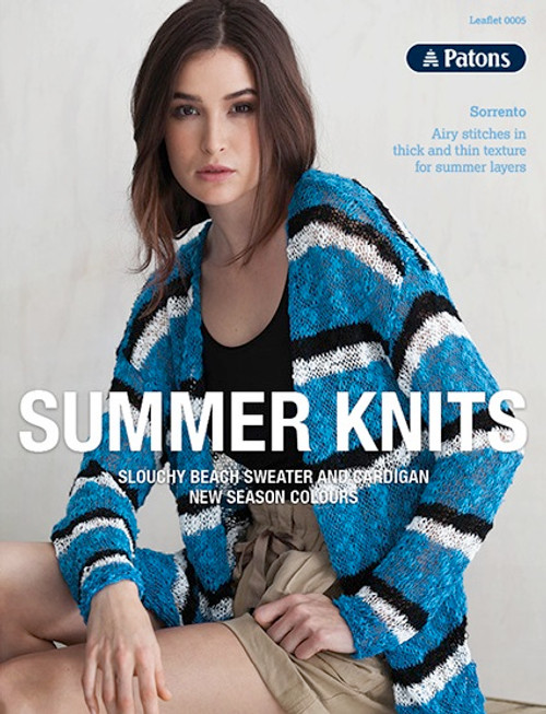 Patons Summer Knits Leaflet 0005