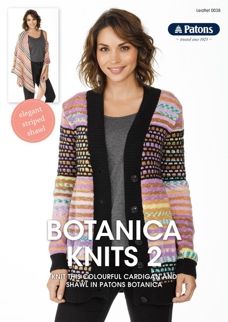 Patons Botanica Knits 2 / Cardigan and Shawl
