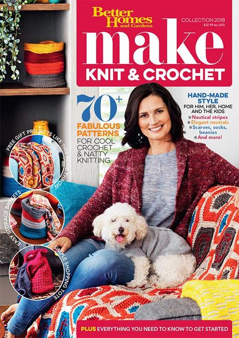 Better Homes and Gardens Knitting & Crochet Book 2018
