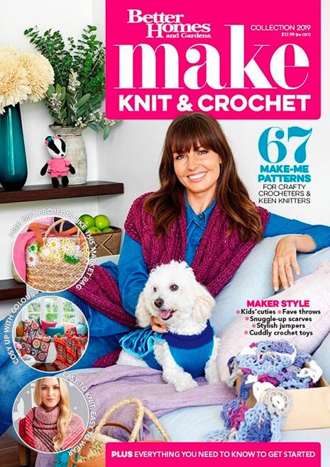 Better Homes and Gardens Knitting & Crochet Book 2019