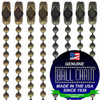 #3 Military Camouflage Color Coated Ball Chains with Connector - 24 Inch Length