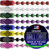 #3 Color Coated Ball Chains with Connector - 30 Inch Length