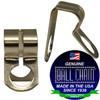 #6 Nickel Plated Brass D Couplings