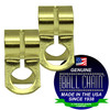 #6 Yellow Brass D Couplings