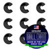 5/16 Inch Black Open Ball