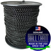 #6 Black Coated Ball Chain Spool is one of our most popular ball chain bulk purchase options.  Utilized as a retaining chain, fan pull chain and light pull chain as well as many other uses.