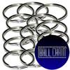 10mm Nickel Plated Steel Split Key Rings