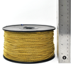 1000 Feet of #3 or 2.4mm diameter Yellow Brass Bead Chain/Ball Chain on a spool.