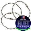 #3 Aluminum Key Chains - 6 Inch Length